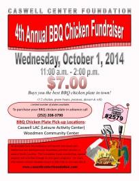 BBQ Fundraiser Flyer