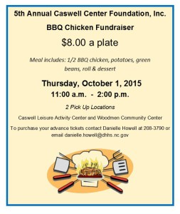 BBQ chicken fundraiiser notice for web page